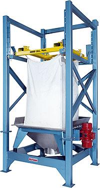 Model 810 Bulk Bag Unloader Utilizes Controlled Vibration